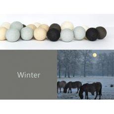 Happy Lights - 35 Cotton Ball LED Fairy Lights - Winter